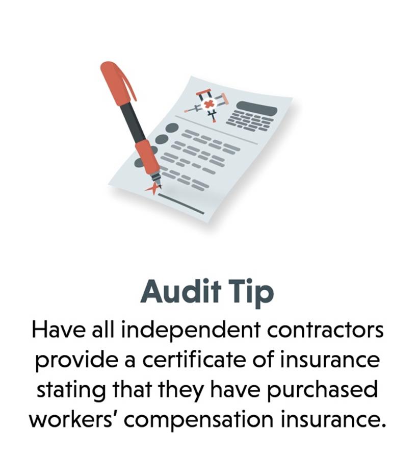 workers compensation audit tip