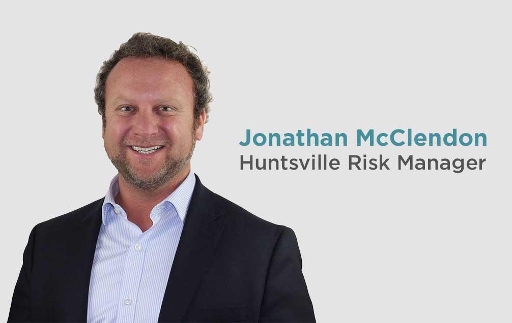 Meet Jonathan McClendon, Huntsville Risk Manager