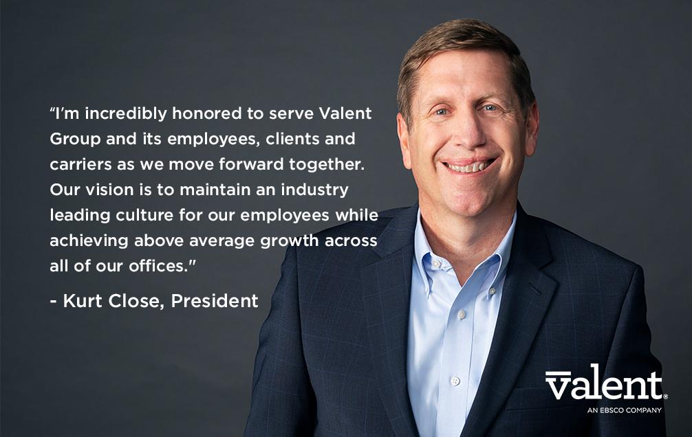 Kurt Close Named President of Valent Group, an EBSCO Company